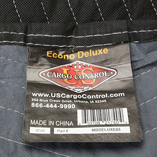 72'' X 80'' Moving Blanket (12-Pack) US Cargo Control Econo Deluxe (65 Lbs/Dozen, Black/Gray) by US Cargo Control (Image #6)