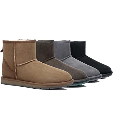 cefd8d34f5b UGG Ankle Boots - Mini Classic Australian Sheepskin, Water Resistant ...