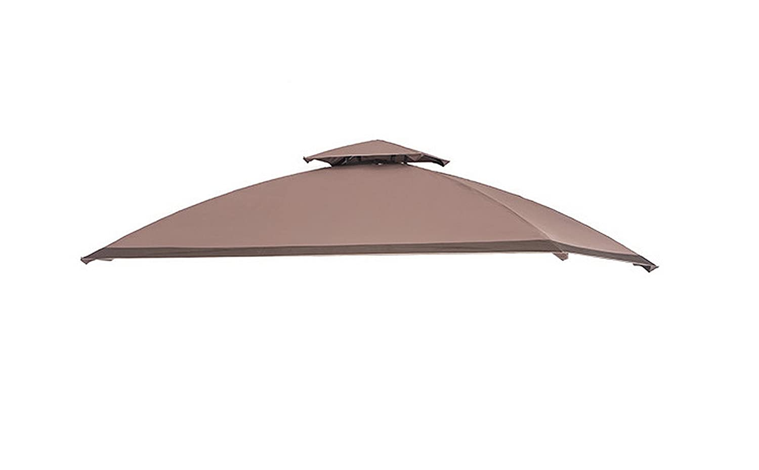 Sunjoy L-GG035PST-PK Replacement Canopy Set for Alton Grill Gazebo, Brown Sunjoy Group
