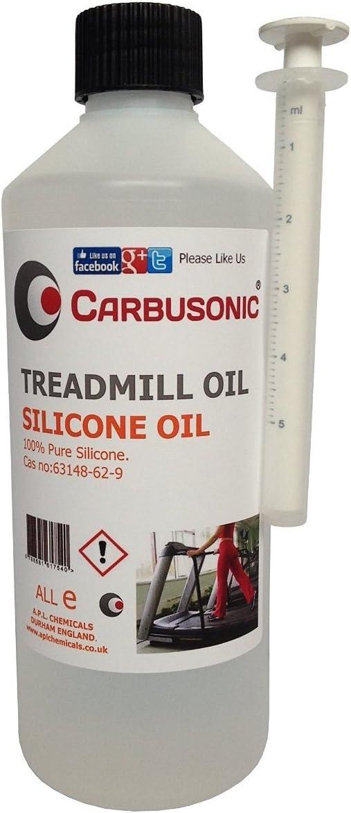 Carbusonic - Aceite lubricante de silicona para cintas de correr ...