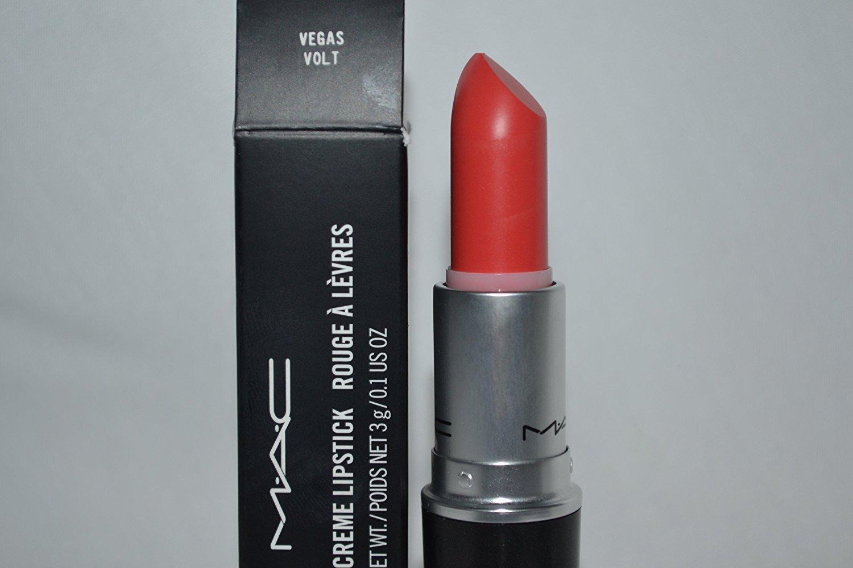 Fabuleux Amazon.com : MAC Amplified Creme Lipstick VEGAS VOLT . : Beauty EJ97