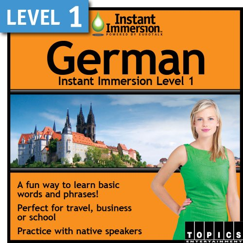 Price comparison product image Instant Immersion Level 1 - German [Download]