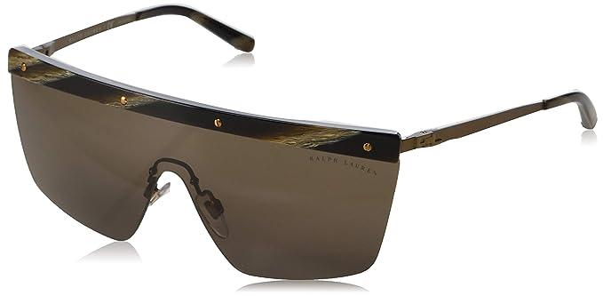 Ralph Lauren 0Rl7056, Gafas de Sol para Mujer, Matte Bronze ...