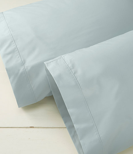 Premium Egyptian Percale Pillowcases, Set of Two | Free Shipping at L.L.Bean