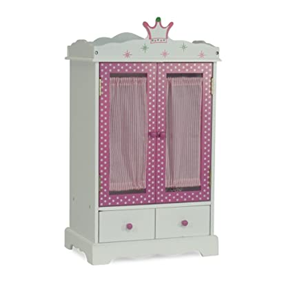 Amazon Com 18 Inch Doll Closet Wish Crown Doll Clothes Storage