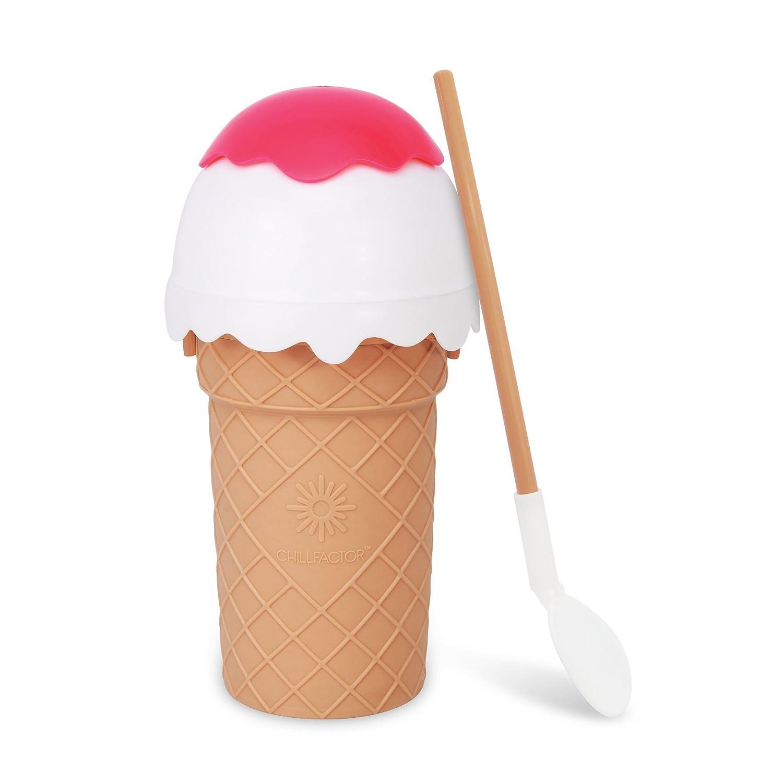 Chill Factor Ice Cream Maker-Vanilla Pink