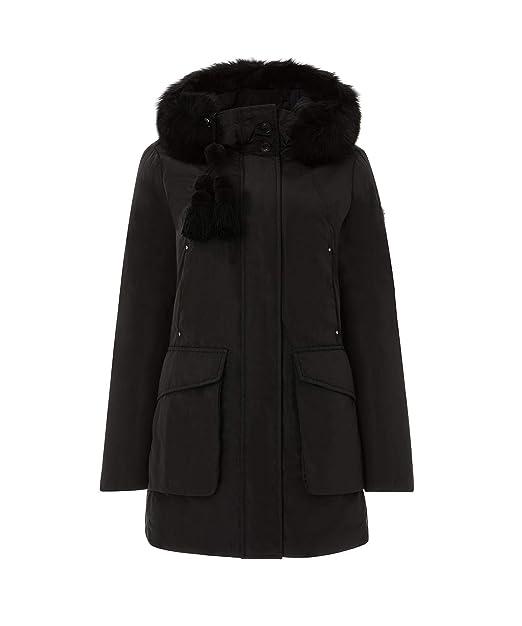 quality design e913d a5e43 Peuterey Regina GB 01 Fur Giacconi Donna: Amazon.it ...