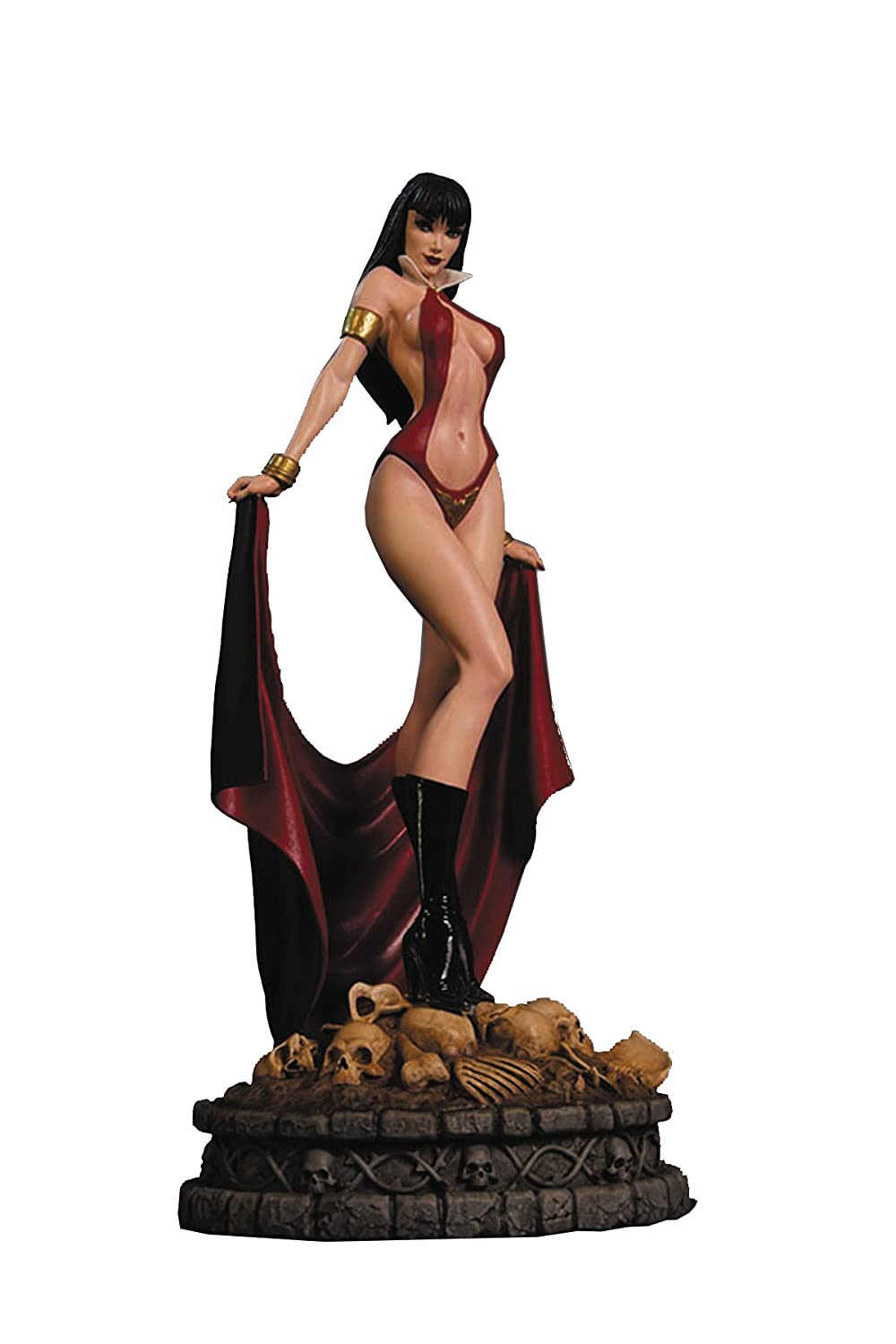 Dynamit Frauen Vampirella Statue (Künstler Proof Edition)