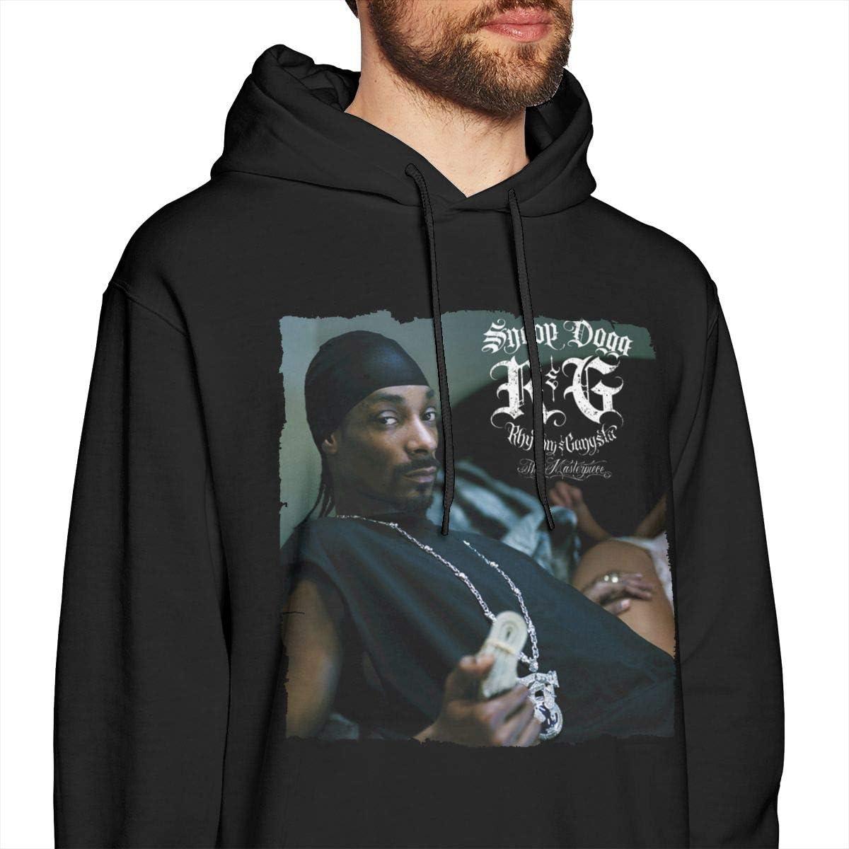 ChaseM Mens Snoop Dogg R/&G Hoodies Hooded Sweatshirt Black