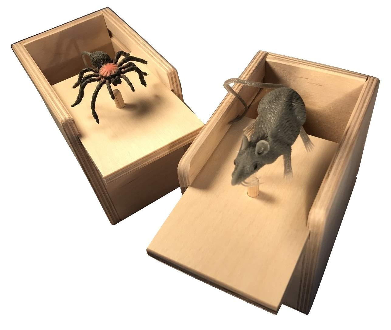 Saving Shepherd Mouse & Spider Surprise Box ~ 2 USA Handmade Fun Prank Gag Gifts by Saving Shepherd (Image #6)