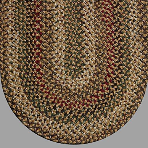 5' x 7' Joseph's Coat Braided Rug JC#775