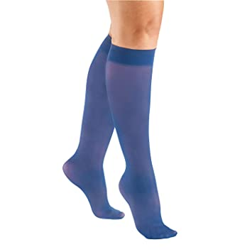 3e467ffaa59 Image Unavailable. Image not available for. Color  Women s Support Plus Mild  Support Sheer Knee Highs ...