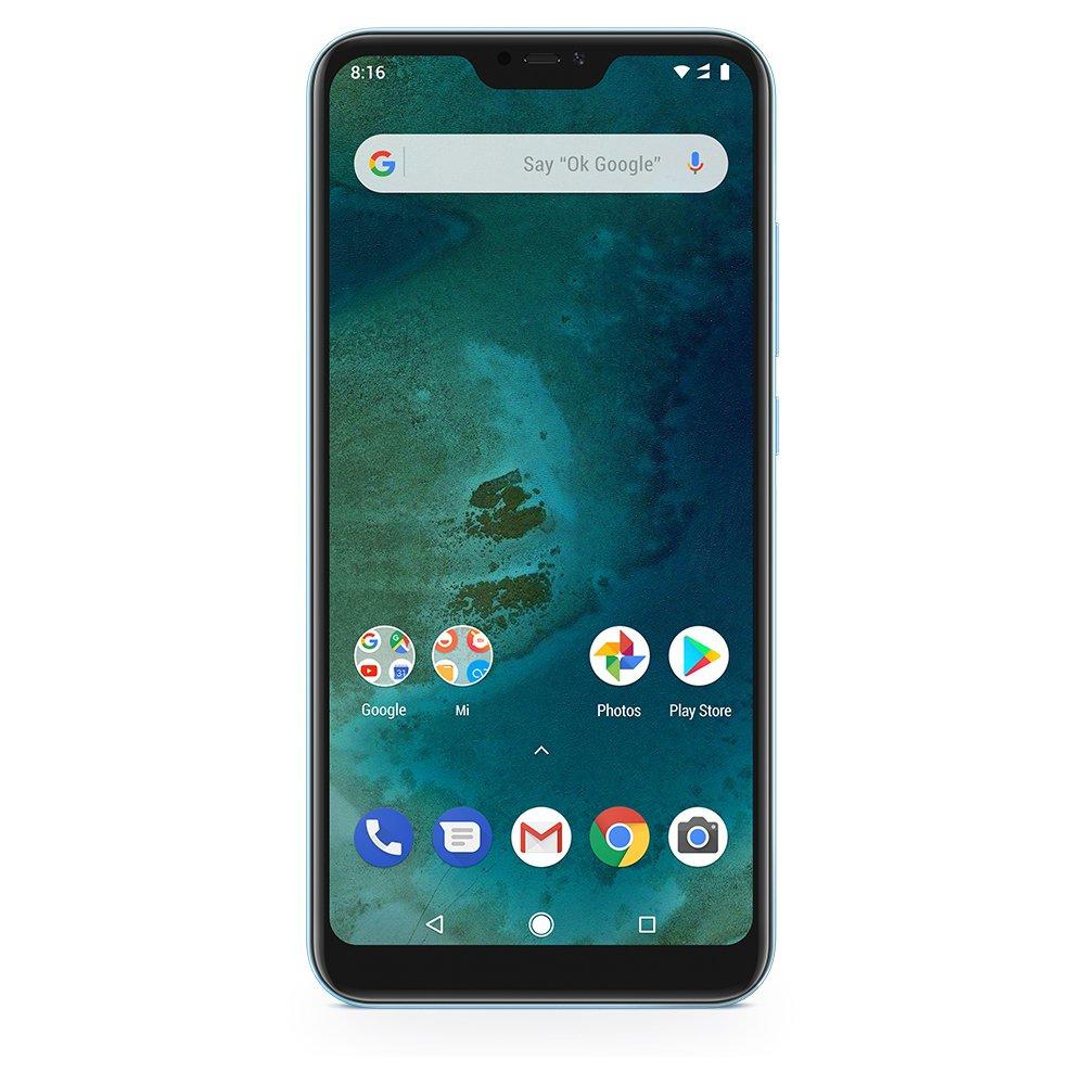 TALLA 64GB. Xiaomi Smartphone Dual Sim Lite Mi A2 Lite (EU Versión), color Azul, 64 GB
