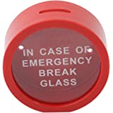 Myhouse Novelty Piggy Bank Coin Saver Emergency Break Glass Money Box