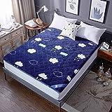 Tatami floor mat,Futon mattress topper Floor Japanese bed Dorm-B 90x200cm(35x79inch)