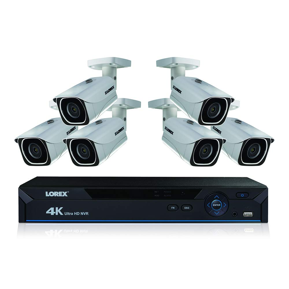 Lorex 4k Ultra Hd Wired Network Security System With Wiring Doorbell House Color Night Vision Camera Photo