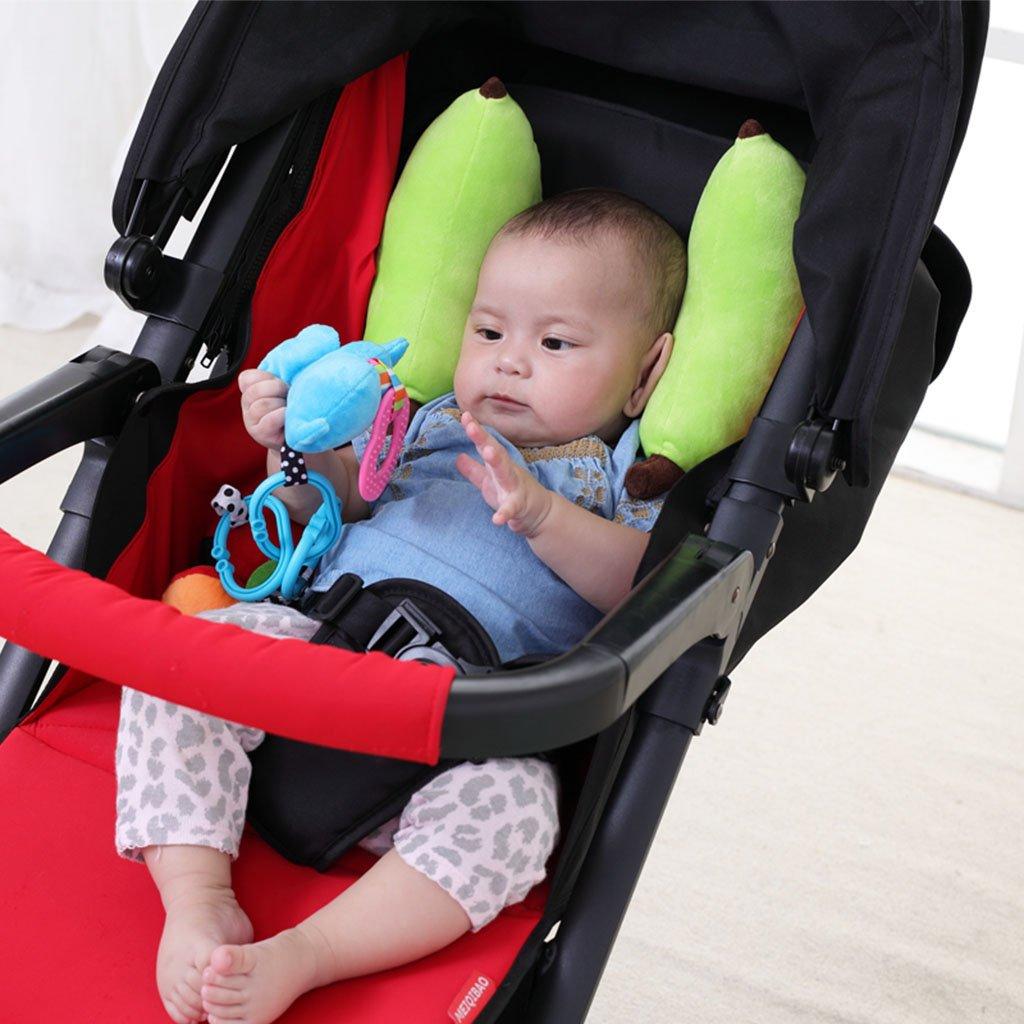 KAKIBLIN Infant Car Seat Head Support Baby Banana Neck Pillow For Function StrollerCar