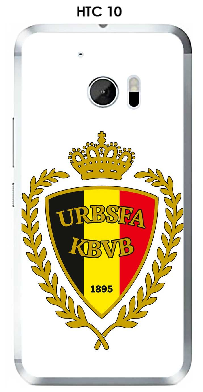 Carcasa HTC 10 Design Bélgica fútbol fondo blanco: Amazon.es ...