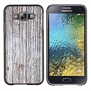 - Grey Rustic Worn Wood Imitation - - Monedero pared Design Premium cuero del tir???¡¯???€????€????????????