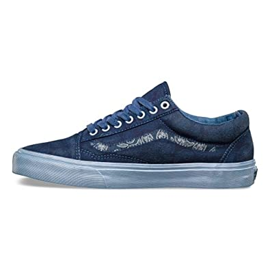 Vans Old Skool Reissue Classics overwash Paisley DRESS Bues