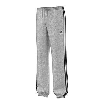 adidas Jungen Sporthose YB Sweat Pants Essentials 3S, Grau