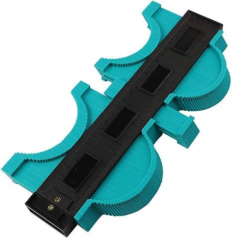 "10/"" Shape Contour Duplicator Profile Gauge Tiling Laminate Edge Shaping Tool New"