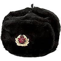 CUCUBA® Unisex Sombrero Negro Friso Incluido Original SOVIÉTICA