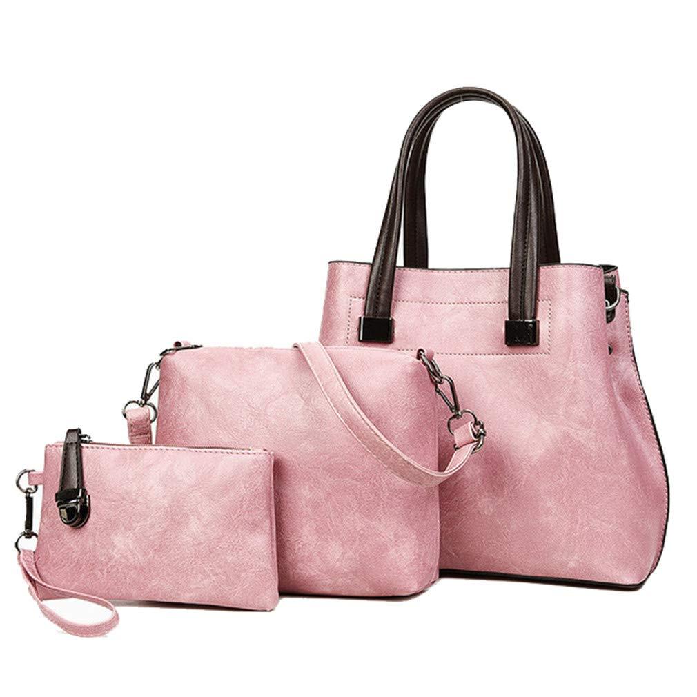 3Pcs Purse And Handbag Leather Bag Handbags Women Crossbody Bags Female Tote