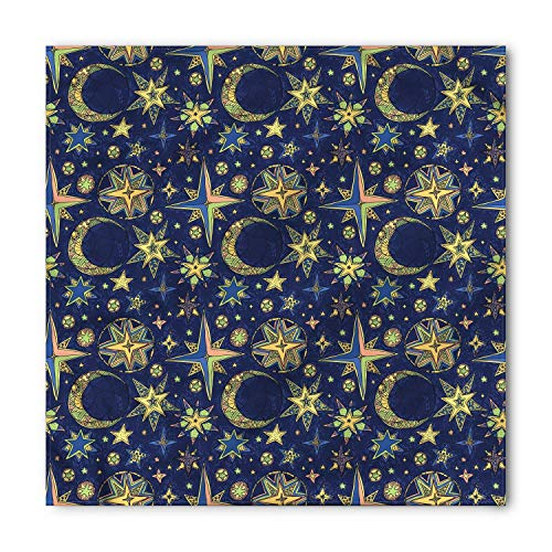 Horseshoe Bandana, Symbol for Good Luck Riding Equipment Blacksmith Arch Pattern Symbolic Print, Printed Unisex,39.339.3inch