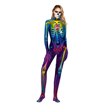 KILLM Disfraz de Halloween para Mujer Disfraz De Terrorista ...
