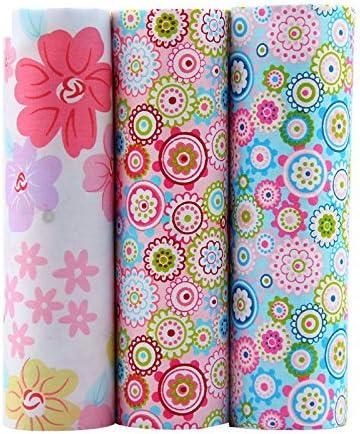 3 Telas costura vintage manualidades costura tapizar scrapbooking patchwork de 40 x 50cm colores retro de OPEN BUY: Amazon.es: Hogar