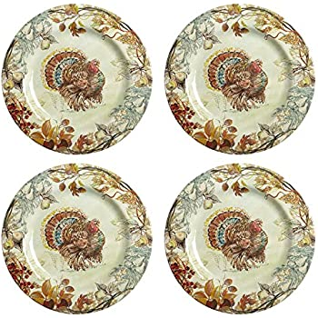 spode woodland turkey dinner plate kitchen. Black Bedroom Furniture Sets. Home Design Ideas