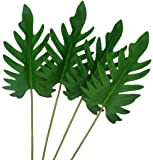 Warmter Tropical Palm Leaves for Hawaiian Luau Party Decoration Plants Supplies and Favors