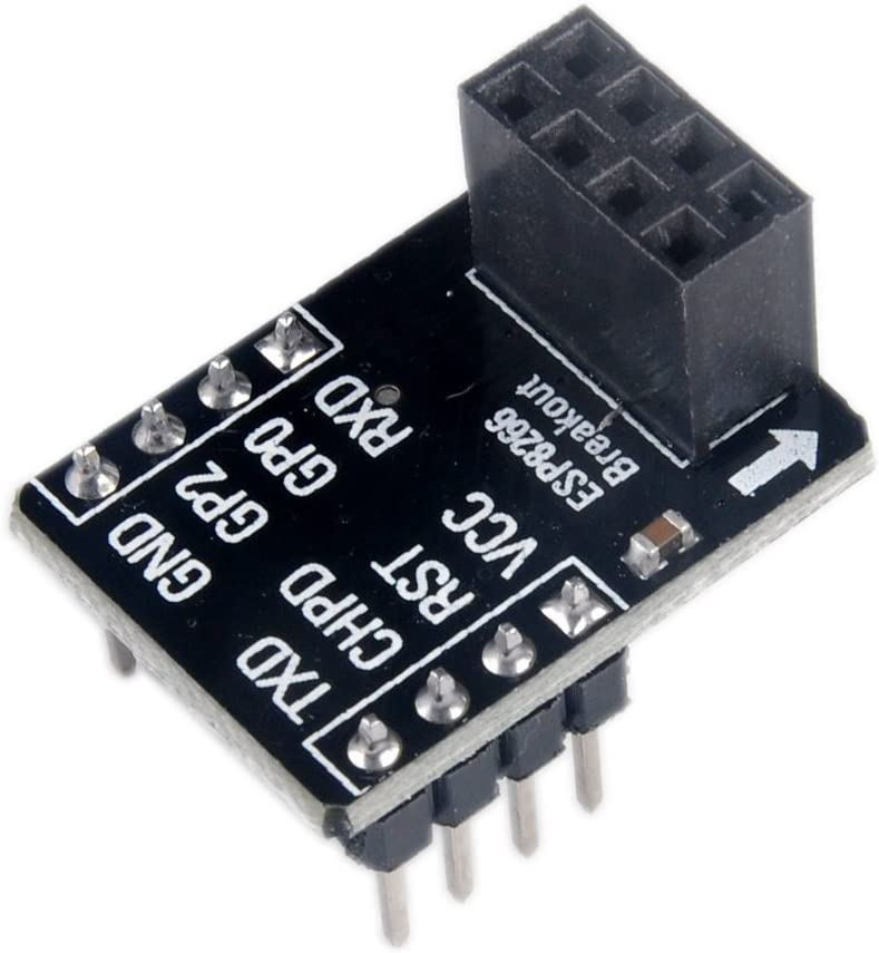 ESP8266 ESP-01 with Breakout Board Breadboard Adapter PCB Serial Transceiver