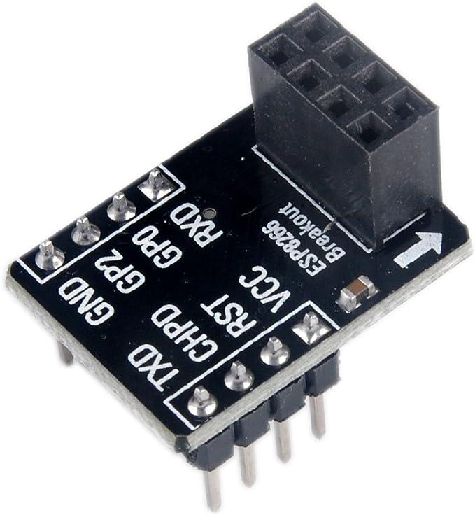 Gulakey 3pcs ESP01//01S Adapter Board Breadboard Adapter For ESP8266 ESP01S ESP01 Development Board Spot Steuermodul