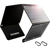 Cargador Solar Portátil 30W 3 Puertos USB Cargador Panel Solar ETFE Impermeable QC 3,0 PD18W para Camping Móviles…