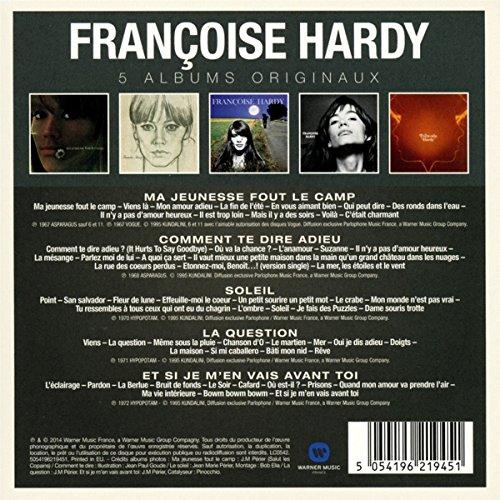 Gut bekannt Francoise Hardy - Original Album Series - Hardy, Francoise  SF92
