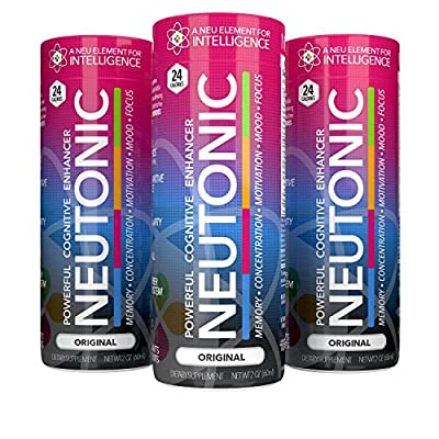 Just Launched! NEUTONIC   12 Pack - STRONGEST NOOTROPIC AVAILABLE - Increase MEMORY, FOCUS, MOTIVATION, CONCENTRATION, and RELIEVE STRESS! - Made in USA - 100% Guaranteed to Work!