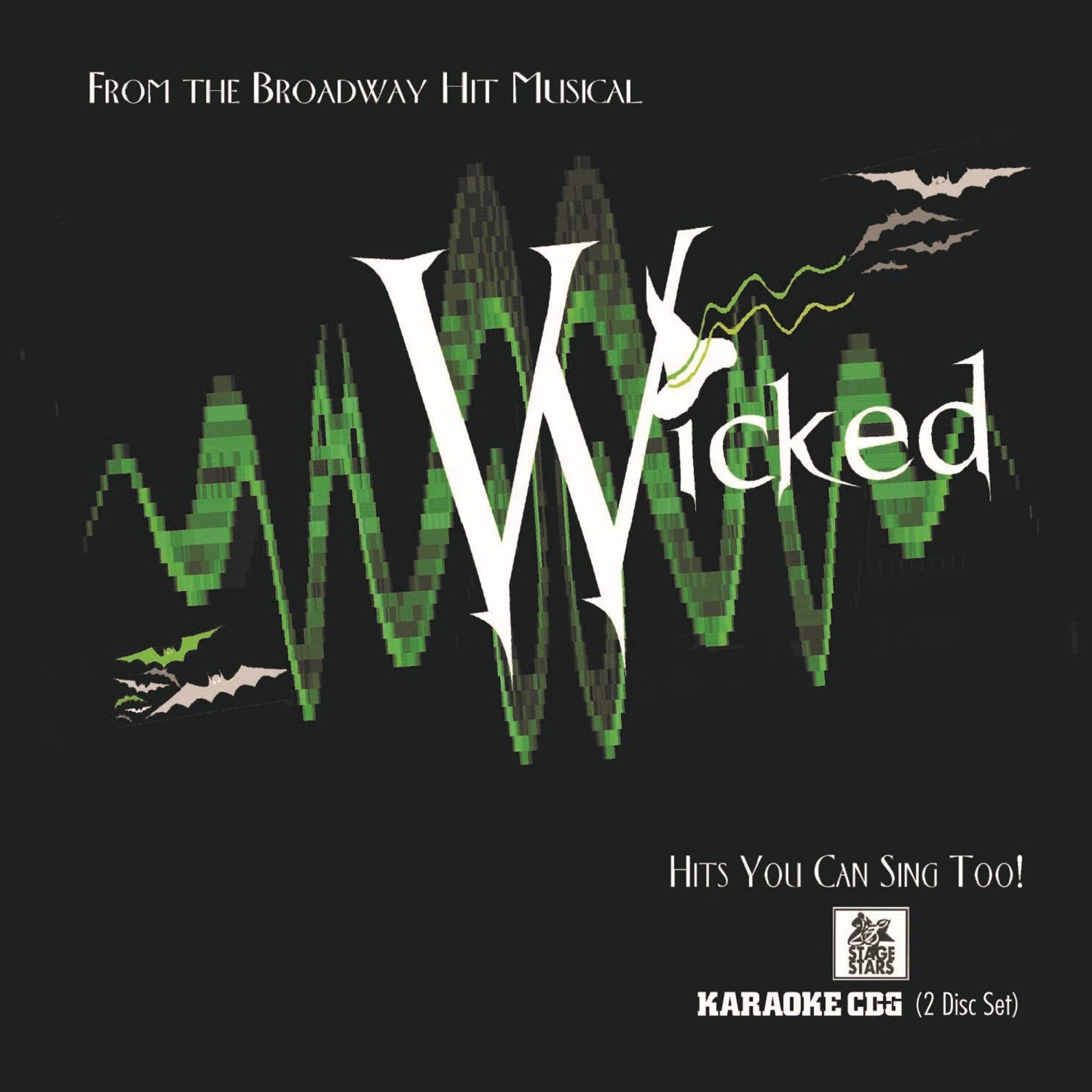 Wicked: From the Hit Broadway Musical - Hits You Can Sing Too! by Stage Stars Records