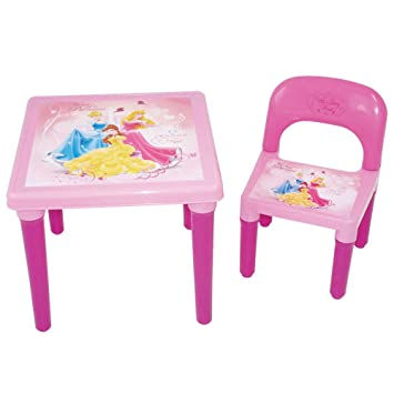 DISNEY DARP-CDIP016 Princess My First Activity Table and Chair with ...