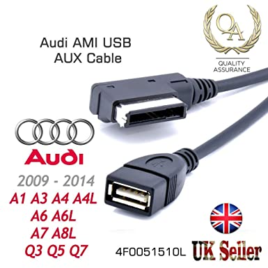 Electronics Car AMI MMI Cable Aux Cord Fit for Audi A4 A3 A4