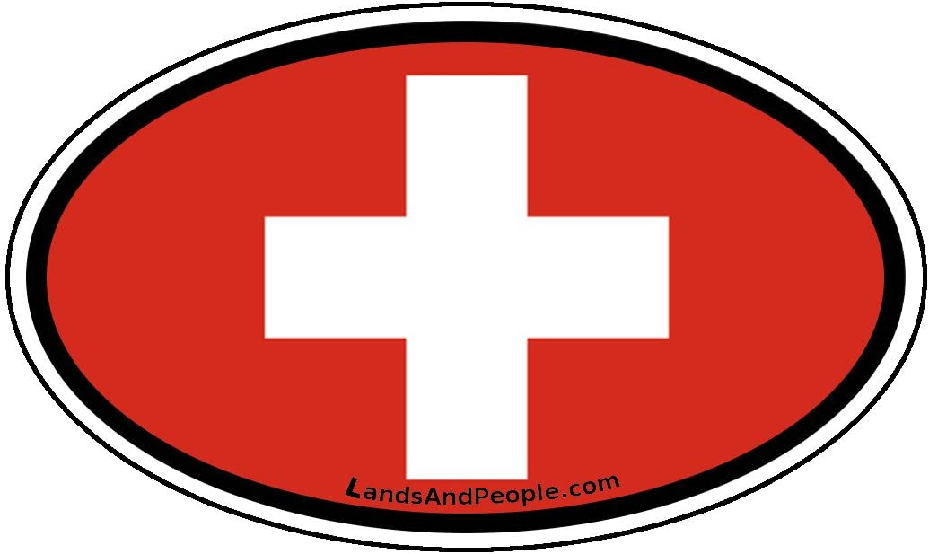 Made in Switerland Sticker Decal Vinyl Swiss CHE CH