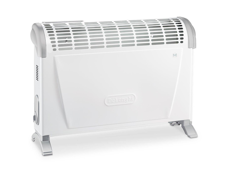 DeLonghi HS20F - Convector turbo, 2000 W, termostato, 2 posiciones, con ventilador asas y kit de montaje mural, color blanco: Amazon.es: Bricolaje y ...