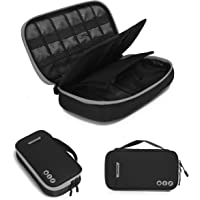 BAGSMART Electronic Accessories Bag, 3 Layer Portable Electronic Organizer Travel for Cables, Extra Batteries, Adapters, USB Sticks, SD Cards