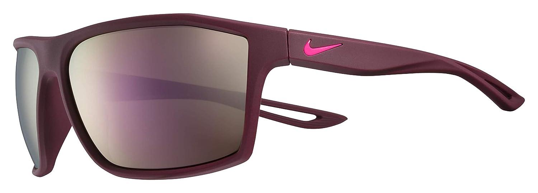 Nike Eyewear Mens Nike Legend Rectangular Sunglasses MATTE BORDEAUX 60 mm