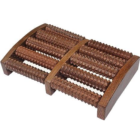 Masajeador de pies, masajeador casero de madera, acupuntura ...