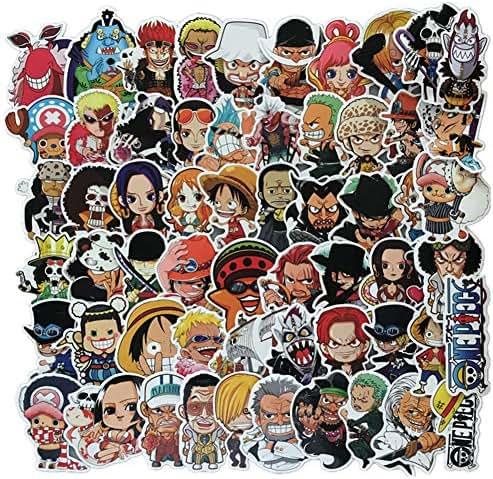 ca14b860f33 29 bình luận. Từ Mỹ. Homyu Stickers 60-Pcs PVC Anime Decals One Piece ...