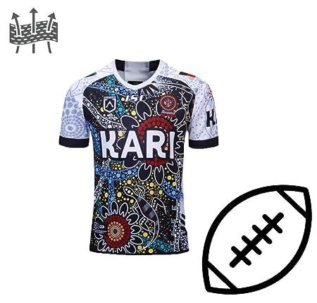 FJXJLKQS Camiseta De Rugby Camiseta De Fútbol para Adultos ...