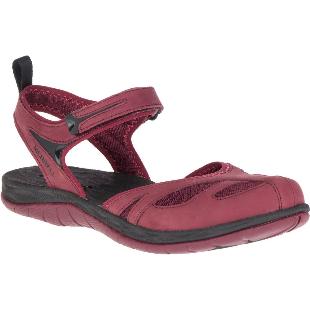 Merrell Women's Siren Wrap Q2 Athletic Sandal B0791MY8K7 7 B(M) US|Chocolate Truffle