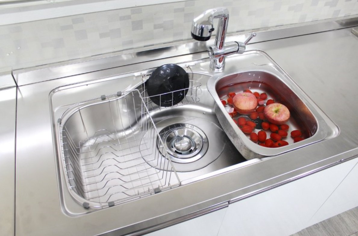 Amazon.com: Kitchen-Art Stainless Steel Washing-up Bowl Multi ...